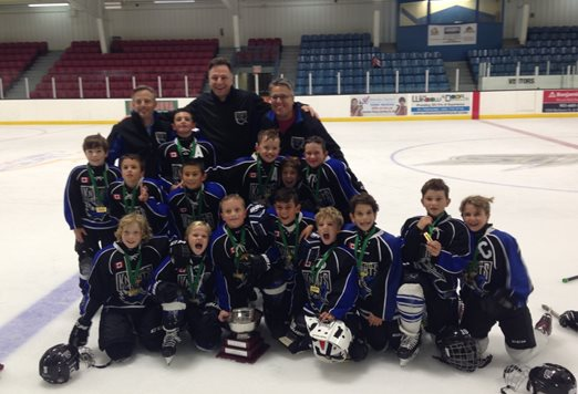 Novice White 2016 Richmond Hill Early Bird Champions