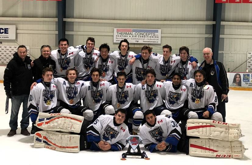 Midget Seniors Champions of the 2018 Marshall Drewnowsky Memorial Select Tournament II