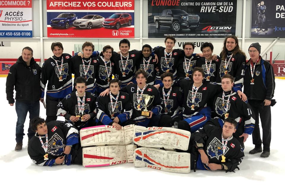 Midget Seniors Champions Of The 2019 Canadian Cup Montreal